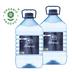 Питьевая артезианская вода высшей категории «ДВОРЦЫ» 5 л, 2 шт./упаковка